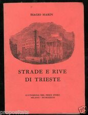 vx 03 1986 - Biagio Marin Strade e rive di Trieste (All'insegna del pesce d'oro)