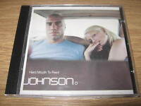JOHNSON - HARD MOUTH TO FEED - (CD ALBUM 1998) - VERY GOOD