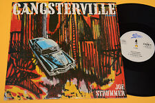 "JOE STRUMMER CLASH 12"" (NO LP ) GANGSTERVILLE ORIGINAL UK 1989"