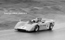 """McLaren M8 Bruce McLaren  Laguna Seca Can Am 1968.  10x7"""" photos"""