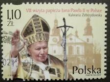 POLAND STAMPS Fi3834 Sc3647 Mi3984 - Visit of pope John Paul II, 2002, used
