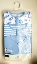 ♡ Next ♡ NEW 3 PACK☆Baby Boy ☆ SPACE ☆ Sleepsuits Babygrows Pyjamas ☆ 6-9 Months