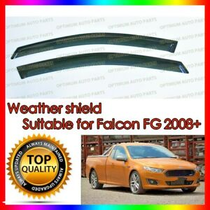 Premium Weather shields Window Visors to suit Ford Falcon FG 2008-2018