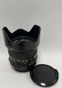 Canon FD 28mm f2.8 Manual Wide Angle Lens - Complete with 52mm Skylight Lens