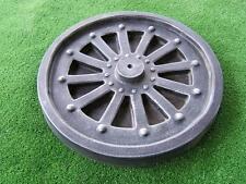Rustic Wagon Wheel Ornament Mould for Garden Cement Concrete