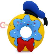 Disney Mickey Friends Donald Duck Magnet Dount 3D PVC Foam Refrigerator Magnets