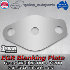 Great Wall EGR Blanking Plate V200 + X200 2.0L 4cyl Diesel TD 2011-ON with hole