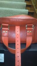 A Mulberry MABEL Small Refined Grain Orange leather bag AW2008 - Brand new .