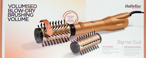 BABYLISS AS952E Volumised Blow-Dry Brushing Volume Warmluftbürste Föhn 650W✅