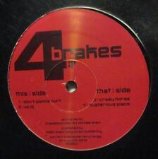 """4 Brakes(12""""Vinyl)Don't Wanna Hurt-UK-DH002-Dubhouse-New/E"""