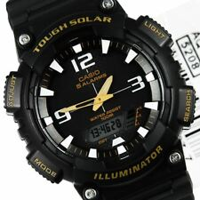 AQ-S810W-1BVDF AQ-S810W-1B Casio Tough Solar WR100M Analog Digital Sports Watch