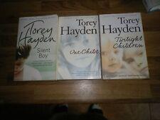 Torey Hayden Paperback Books x 3 Silent Boy/One Child/Twilight Children