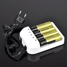 Universal i4 Intelligent Li-ion/NiMH 18650/26650/AAA Battery Charger 4 Slots HM