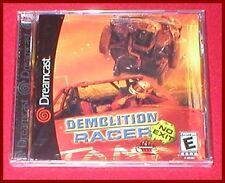 Demolition Racer for the Sega Dreamcast System NEW SEALED