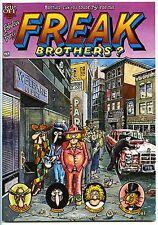 FREAK BROTHERS #4 - 1st printing