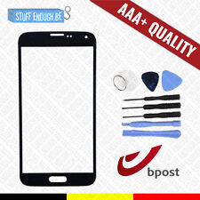 AAA+ GLASS/FRONT GLAS/VERRE AVANT BLACK + TOOLS FOR SAMSUNG GALAXY S5 I9600