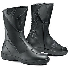 Sidi Mega Rain Black Waterproof Motorcycle Touring Boots UK 9