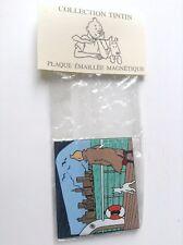Plaque émaillée Pixi magnet Tintin ETAT NEUF