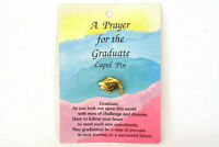 A Prayer for the Graduate Lapel Pin Papel Freelance
