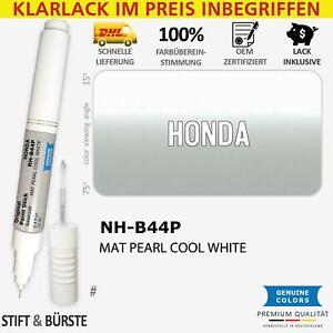 NH B44P MAT PEARL COOL WHITE Lackstift für HONDA Weiß # Kratzer Stift Lackrepa