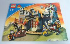 Lego ® receta duplo ritterburg 4777 ungelocht Ba guía Castle