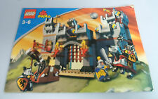 LEGO ® recipe Duplo Castello Cavalieri 4777 ungelocht BA istruzioni Castle