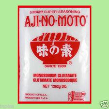 AJINOMOTO 3 BAGS x 3 lbs MONOSODIUM GLUTAMATE MSG  CHINESE SALT