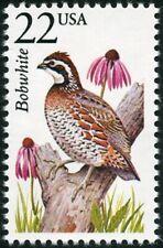 USA -1987- North American Wildlife Stamp - Bobwhite Quail  -- Scott #2301