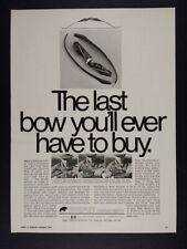 1969 Fred Bear Take-Down Hunting Bow vintage print Ad