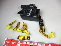 5x LED Beleuchtungssockel 19V +Steger Netzteil (Trafo) für Modellbahn #S0-LED