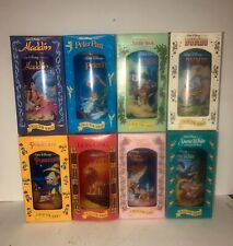 Walt Disney Collector Series Cups Glasses Burger King Complete Set of 8 1994