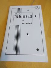 More details for the star tradeshow act by docc hilford softcover 2005