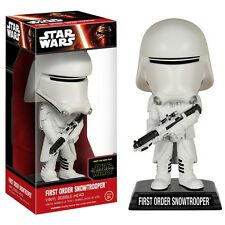 Star Wars Force Awakens Wacky Wobbler Snowtrooper Bobble Head Figure NEW Toys
