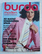Burda moden-Heft Handarbeitsheft 1978 70s 70er 80s 80er vintage-Mode Kinder uvm