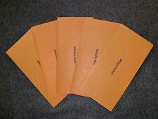 Louis Vuitton DOCUMENT Envelopes. Set of 5.