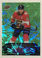 2020-21 UD Upper Deck Series 1 Green Dazzlers Aleksander Barkov Florida Panthers