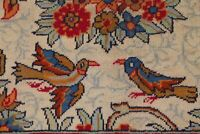 BLACK FRIDAY Antique Animal Design Hand-Knotted Area Rug Floral Carpet 10x13