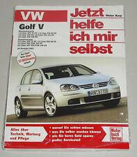 Reparaturanleitung VW Golf 5 / V Benzin + TDI SDI Diesel, ab Baujahr 2003