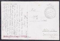 Feldpost Pardubitz FP 31324 auf AK Chrudim 1940, Böhmen u. Mähren