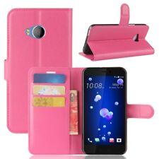 Bolsa Wallet Premium Rosa para HTC U11 Life Funda Funda Protectora Accesorio