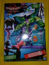 Marvel Spiderman Into The Spider-Verse Super Collider Playset with Miles Morales