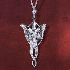 Collar Arwen Señor de los Anillos Ring Estrella del Atardecer Colgante Arwen *
