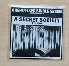 MY VITRIOL / A SECRET SOCIETY - CD This Time - Alt.rock / indie  NEW