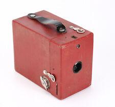 RED KODAK NO. 2 RAINBOW HAWKEYE MODEL C, HANDLE REPLACED, DENTED/212138