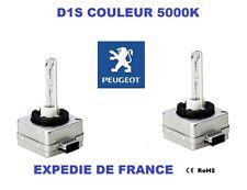 2 AMPOULES XENON D1S PEUGEOT 307 CC 2005->2008 35W 5000K NEUF
