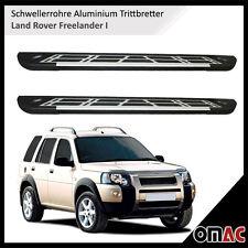 Schwellerrohre Aluminium Trittbretter für Land Rover Freelander I Sunrise (163)