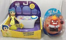 "2015 TOMY Disney Pixar INSIDE OUT ""THE CONSOLE"" SET WITH ""JOY"" & ""ANGER"" FIGURE"