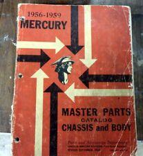 1956-1957-1958 mercury manuals