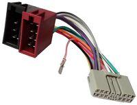 Adaptateur faisceau câble ISO autoradio pour Mitsubishi Lancer Montero Outlander
