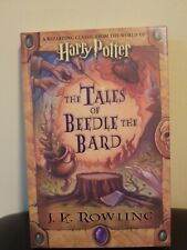 Harry Potter The Tales Of Beedle The Bard Hardcover 1st Edition